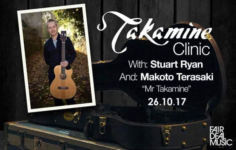 Takamine Clinic At Fairdeal Music Birmingham