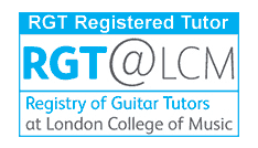 RGT Registered Guitar Tutor In Birmingham or Over Skype