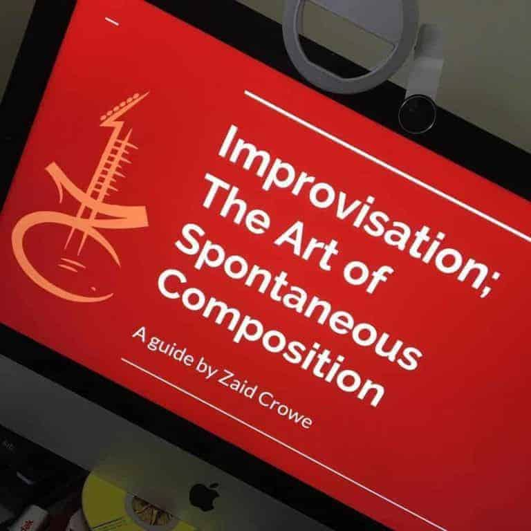 Group Jam/Improvisation Classes Launched!